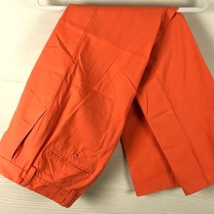 Vineyard Vines Orange Slim Fit Breaker Pants 28x32